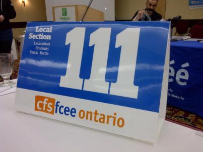 CFS Ontario AGM 2012-2013